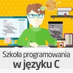 Kurs wideo Szkoła programowania w języku C - wersja ON-LINE