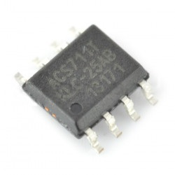 Czujnik prądu ACS711KLCTR +/-25A  - SMD