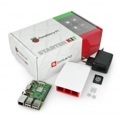 Zestaw Raspberry Pi 3 model B WiFi - Official