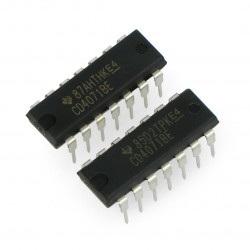 Układ logiczny 4xOR CD4071BE
