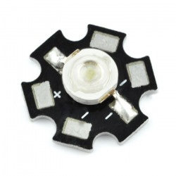 Dioda Power LED Star 3 W -...