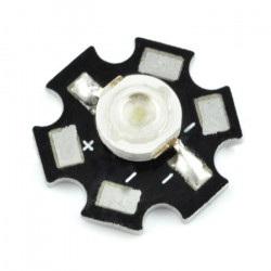 Dioda Power LED Star 3 W -...