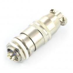 Złącze przemysłowe ZP2 z szybkozłączem - 7-pinowe