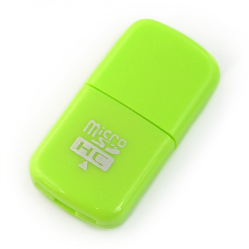 Card Reader AK242A - czytnik kart pamięci microSD