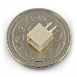 Gniazdo JST proste raster 1,5mm - pionowe