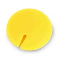 Organizer do przewodów Blow - klips magnetyczny żółty