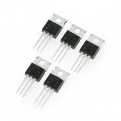 Tranzystor P-MOSFET IRF9640 - THT - 5szt
