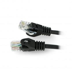 Przewód sieciowy Lanberg Ethernet Patchcord UTP 5e 30m - czarny