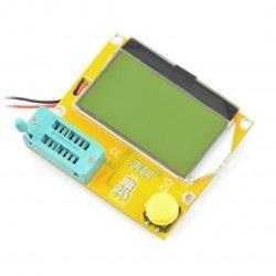 Zestaw do testowania, tester elementów elektronicznych - BTE-056