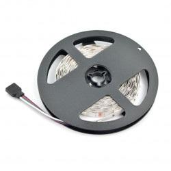 Pasek LED SMD5050 IP44 7,2W, 30 diod/m, 10mm, RGB - 5m