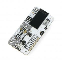 Enviro pHAT - czujnik temperatury, wilgotności, ciśnenia, światła, gazu, ADC z mikrofonem - nakładka dla Raspberry Pi