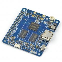 Odroid C0 - Amlogic Quad-Core 1,5GHz + 1GB RAM