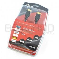 Przewód HDMI Art AL-10 3w1:...