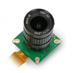 Kamera IMX477 12,3MPx HQ z obiektywem 6mm CS-Mount - dla Raspberry Pi - ArduCam B0240