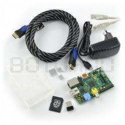 Zestaw Raspberry Pi model B...