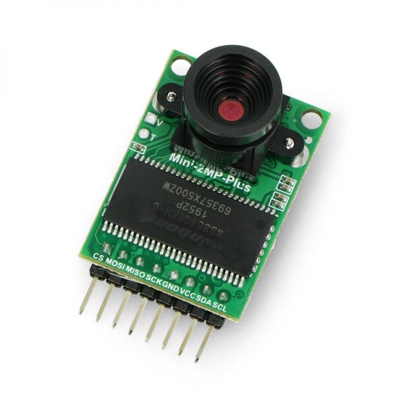 ArduCam-Mini OV2640 2MPx 1600x1200px 60fps SPI - moduł kamery do Arduino