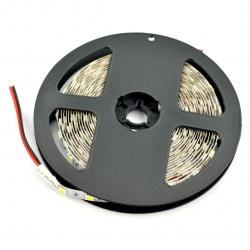 Pasek LED SMD5050 IP44 14,4W, 60 diod/m, 10mm, barwa naturalna biała - 5m
