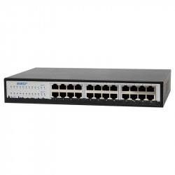 Switch PoE Hored NS6024L 24 porty 100Mbps