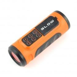 Głośnik przenośny rowerowy Bluetooth Blow BT300 + latarka