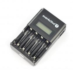 Ładowarka akumulatorów everActive NC-450 - AA, AAA 1-4szt. - czarna