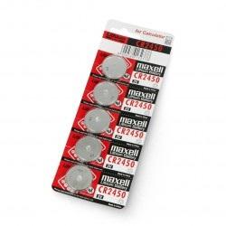 Bateria CR2450 3V Maxell