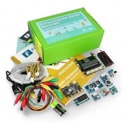 Zestaw micro:bit Grove Inventor Kit - zestaw wynalazcy dla dzieci (moduły + micro:bit + kurs FORBOT + książka)