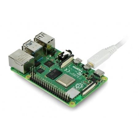 Przewód microHDMI - HDMI T7689AX - oryginalny dla Raspberry Pi 4 - 1m