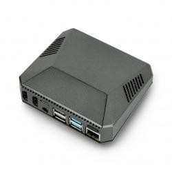 Obudowa do Raspberry Pi 4B aluminiowa z wentylatorem - Argon One - szara