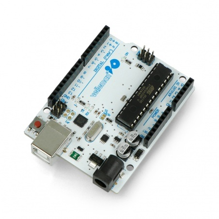 Płytka deweloperska Velleman ATmega328 UNO -kompatybilna z Arduino