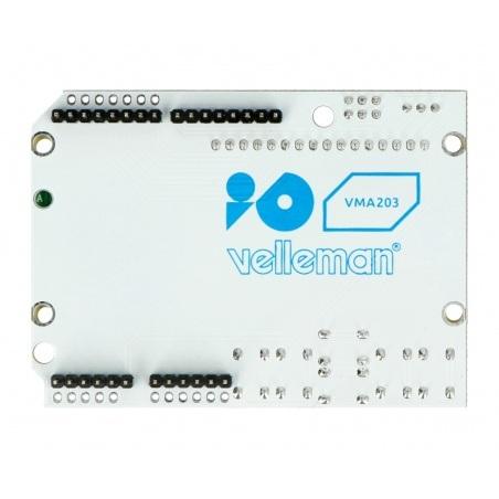 Velleman LCD Keypad Shield - wyświetlacz dla Arduino