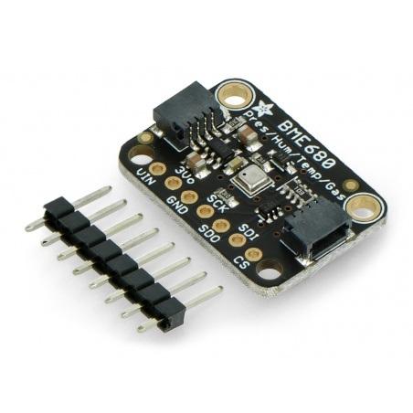 Adafruit BME680 - czujnik temperatury, wilgotności, ciśnienia i gazu