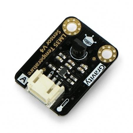 DFRobotGravity - analogowy czujnik temperatury LM35
