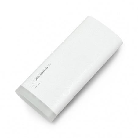 Mobilna bateria PowerBank Esperanza EMP114W 10000mAh - biała