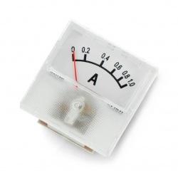 Amperomierz analogowy - panelowy 91C16 mini - 1A