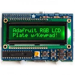 RGB negatyw 2x16 LCD + klawiatura Kit dla Raspberry Pi -