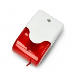 Sygnalizator alarmowy AS7015 - czerwony