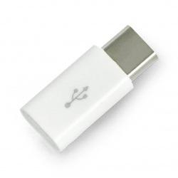 Przejściówka microUSB - USB typ C