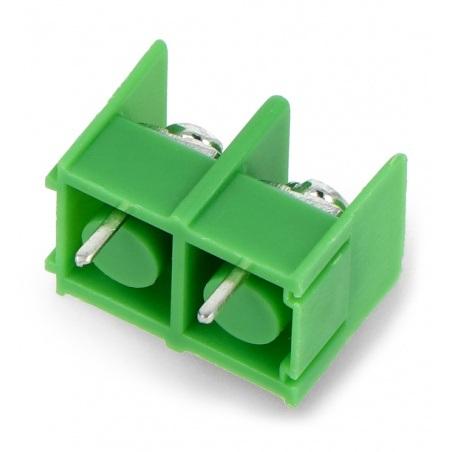 Listwa barierowa do PCB, 2-pinowa, raster 8,5mm - 10szt.