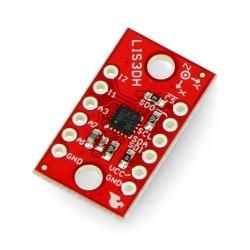 LIS3DH - 3-osiowy akcelerometr IMU 3DoF I2C/SPI - SparkFun SEN-13963