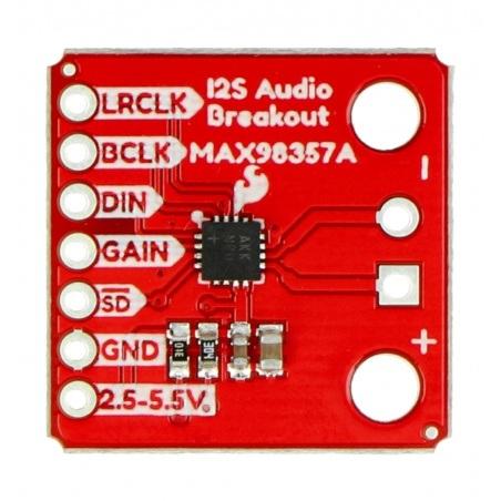 MAX98357A - dekoder stereo DAC I2S - SparkFun DEV-14809