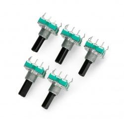 Enkoder 24 impulsy 20mm - EC16 pionowy - 5szt.