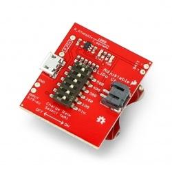 LiPo Charger ładowarka akumulatorów Li-Pol 3,7V - z regulacją prądu - SparkFun PRT-14380
