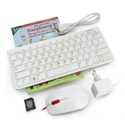 Zestaw z Raspberry Pi 400 US WiFi 4GB RAM 1,8GHz + oficjalne akcesoria