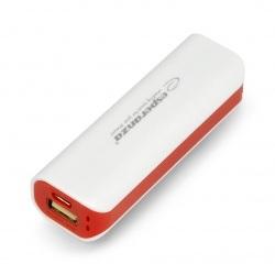 Mobilna bateria PowerBank Esperanza Joule EMP103WR 2200mAh - biało-czerwona