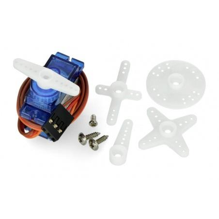 Serwo Feetech FT90R - micro - praca ciągła 360 stopni