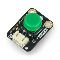 DFRobot Gravity - cyfrowy przycisk Tact Switch - zielony