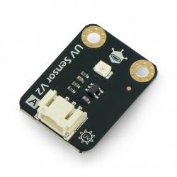 DFRobot Gravity - czujnik światła ultrafioletowego UV analogowy