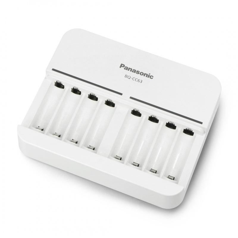 Ładowarka sieciowa Panasonic BQ-CC63 - AA, AAA 1-8szt.