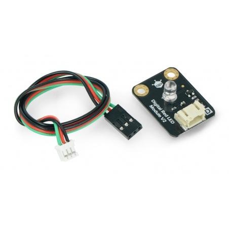 DFRobot Gravity - dioda LED czerwona