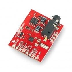 Si4707 - odbiornik radiowy do odczytu danych pogodowych - SparkFun WRL-11129